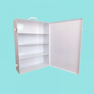 Metal Large Wall Mounted First Aid Cabinet Industrial